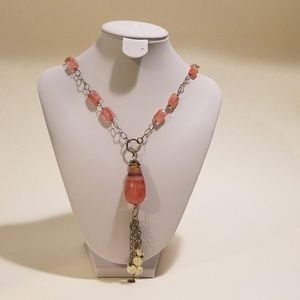 Jewelry - Pink Rhodochrosite Necklace